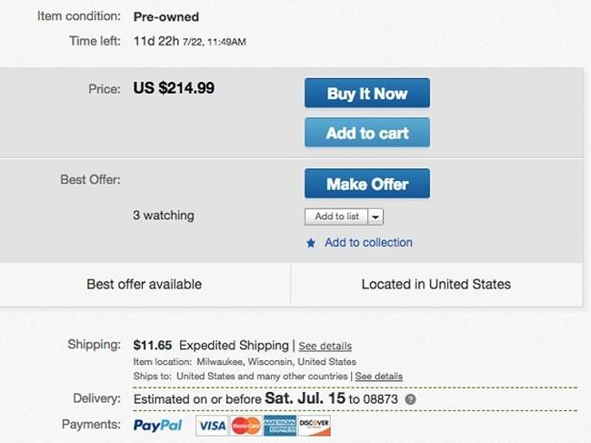 7 mẹo đơn giản giúp bạn tự tin mua sắm trên eBay ảnh 5