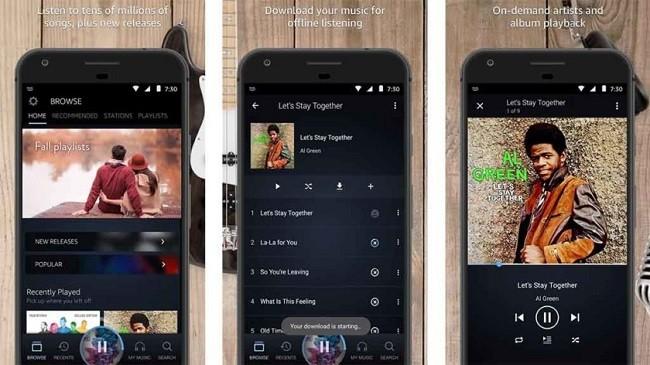 Top 10 ứng dụng và dịch vụ nghe nhạc trực tuyến cho Android ảnh 1