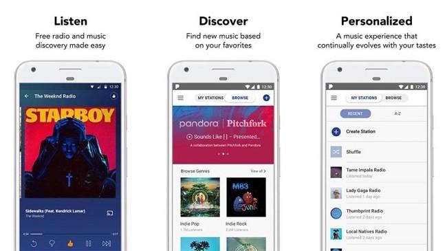 Top 10 ứng dụng và dịch vụ nghe nhạc trực tuyến cho Android ảnh 4