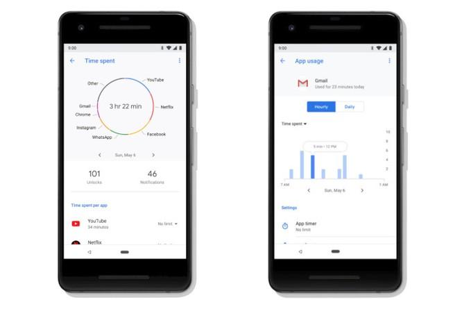 Google trình làng Android P : Giao diện mới , tính năng mới ảnh 3
