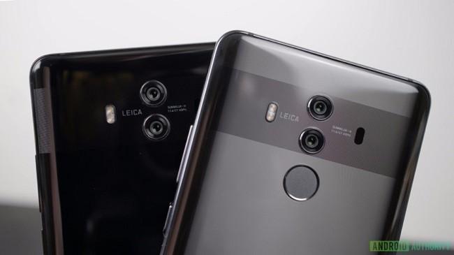 Rò rỉ thông tin về Huawei Mate 20: bộ 3 camera, máy quét vân tay siêu âm ảnh 2