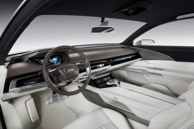 Nội thất của Audi Prologue concept (Ảnh: Audi)