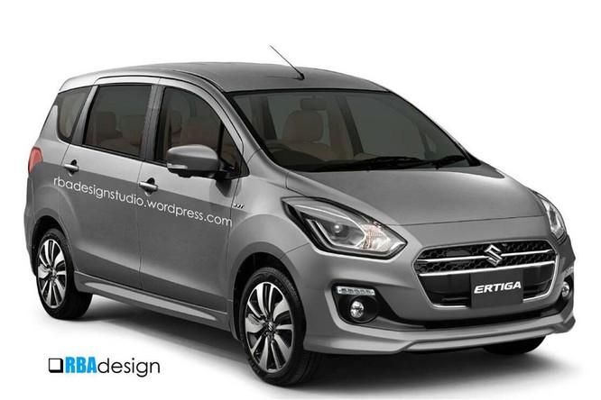 Ảnh dựng Suzuki Ertiga thế hệ mới