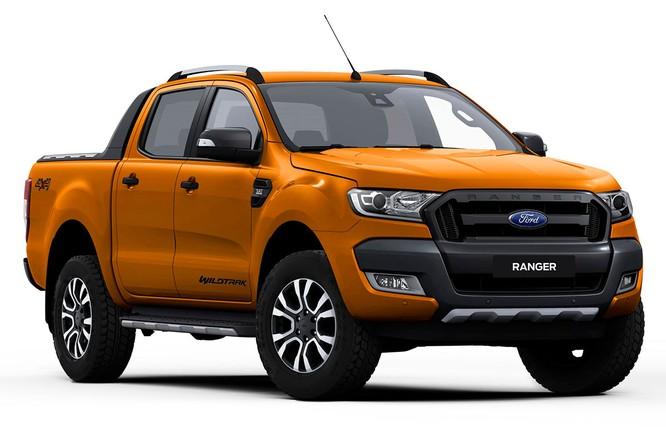Năm 2017, Ford Ranger tiếp tục vô đối ở phân khúc xe bán tải ảnh 1