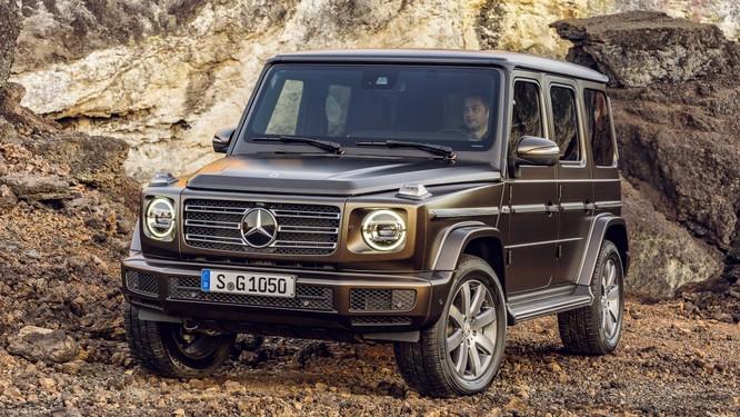 """Mercedes-Benz G-Class 2019: Quá """"ngầu"""", quá sành điệu ảnh 5"""
