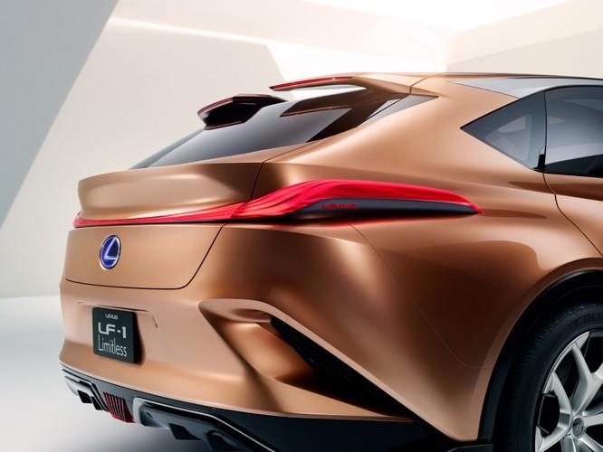 [NAIAS 2018] LF-1 Limitless Concept: Tầm nhìn của Lexus về SUV hạng sang ảnh 19