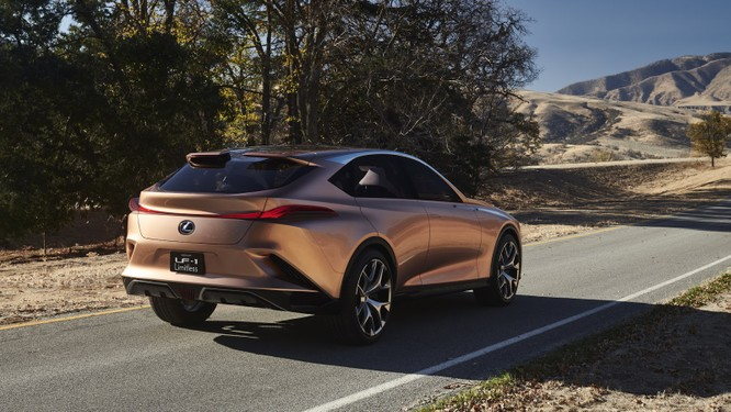 [NAIAS 2018] LF-1 Limitless Concept: Tầm nhìn của Lexus về SUV hạng sang ảnh 4
