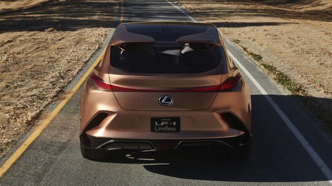 [NAIAS 2018] LF-1 Limitless Concept: Tầm nhìn của Lexus về SUV hạng sang ảnh 5