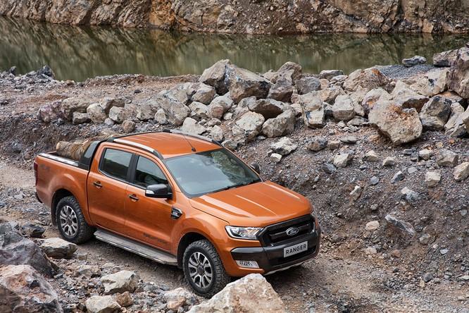 Ford Ranger thống trị phân khúc bán tải ở khu vực châu Á - TBD ảnh 1