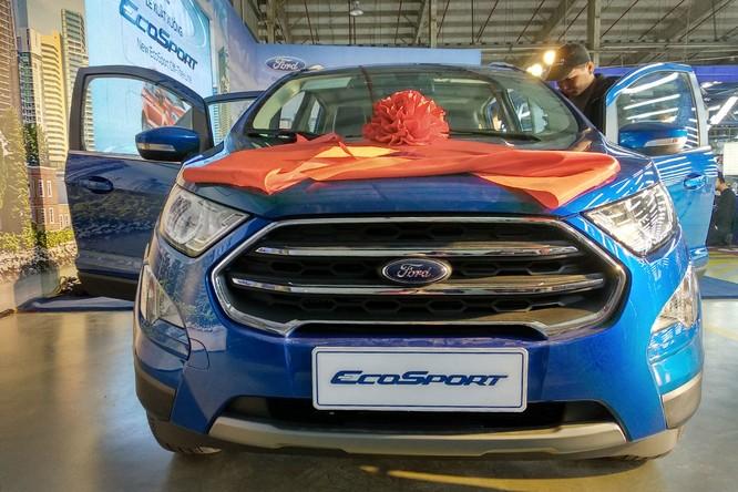 Phần đầu xe của Ford EcoSport 2018 nhận được nhiều thay đổi nhất