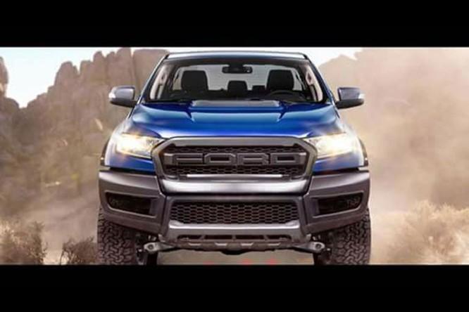 Ford Ranger Raptor 2019 sẽ chính thức ra mắt tại Thái Lan vào 7/2/2018 ảnh 1