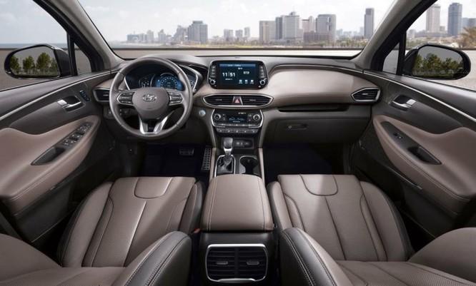 Hyundai Santa Fe 2019 thế hệ mới sắp chính thức ra mắt ảnh 1