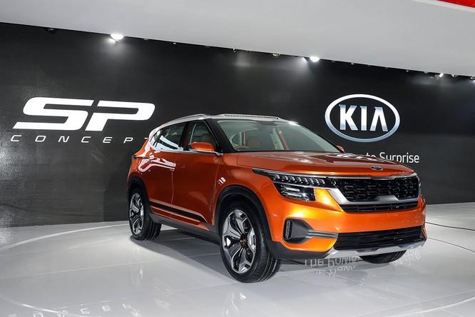 Kia SP Concept ra mắt tại Ấn Độ, sẽ bán ra vào năm sau ảnh 1