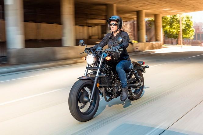Honda Rebel 300 chính thức được phân phối, cuối tháng 3 có hàng, giá 125 triệu ảnh 5