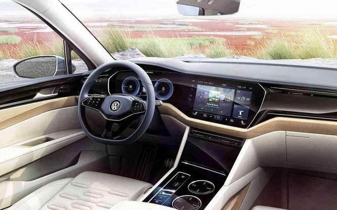 VW Touareg 2019 thế hệ mới chuẩn bị ra mắt toàn thế giới ảnh 1