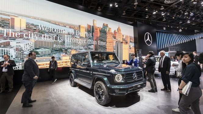Mercedes-Benz tính rút khỏi triển lãm Detroit vào năm sau ảnh 1