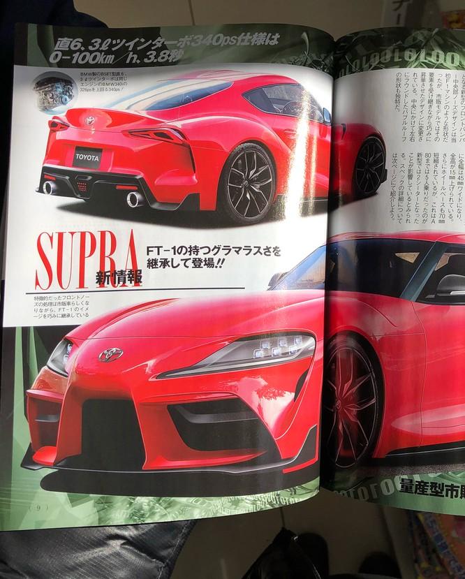 Toyota chuẩn bị cho màn hồi sinh mẫu xe thể thao Supra ảnh 1