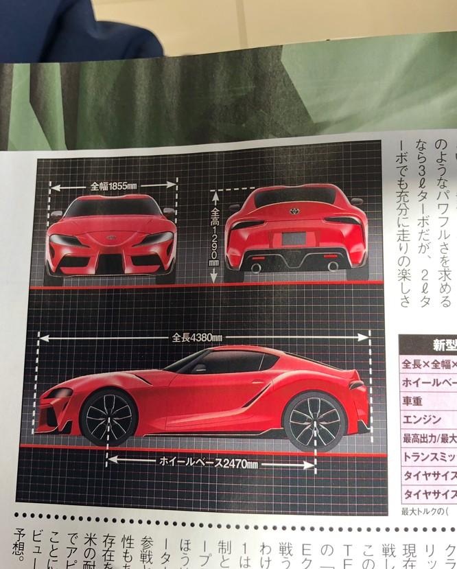 Toyota chuẩn bị cho màn hồi sinh mẫu xe thể thao Supra ảnh 2