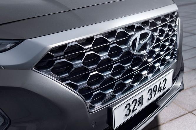 Cận cảnh mẫu Hyundai Santa Fe 2019 vừa chính thức ra mắt ảnh 9