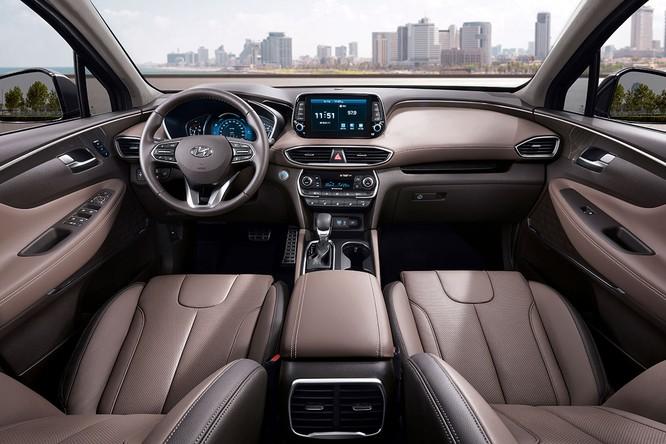 Cận cảnh mẫu Hyundai Santa Fe 2019 vừa chính thức ra mắt ảnh 2
