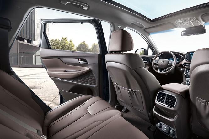 Cận cảnh mẫu Hyundai Santa Fe 2019 vừa chính thức ra mắt ảnh 3