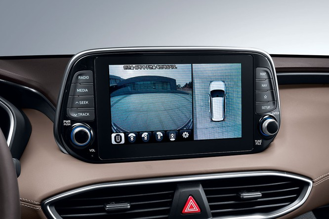 Cận cảnh mẫu Hyundai Santa Fe 2019 vừa chính thức ra mắt ảnh 22