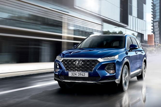 Cận cảnh mẫu Hyundai Santa Fe 2019 vừa chính thức ra mắt ảnh 5