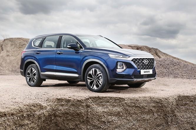 Cận cảnh mẫu Hyundai Santa Fe 2019 vừa chính thức ra mắt ảnh 4