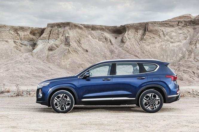 Cận cảnh mẫu Hyundai Santa Fe 2019 vừa chính thức ra mắt ảnh 7