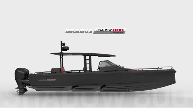 Brabus Shadow 800: Chiếc sedan thể thao trên biển ảnh 3