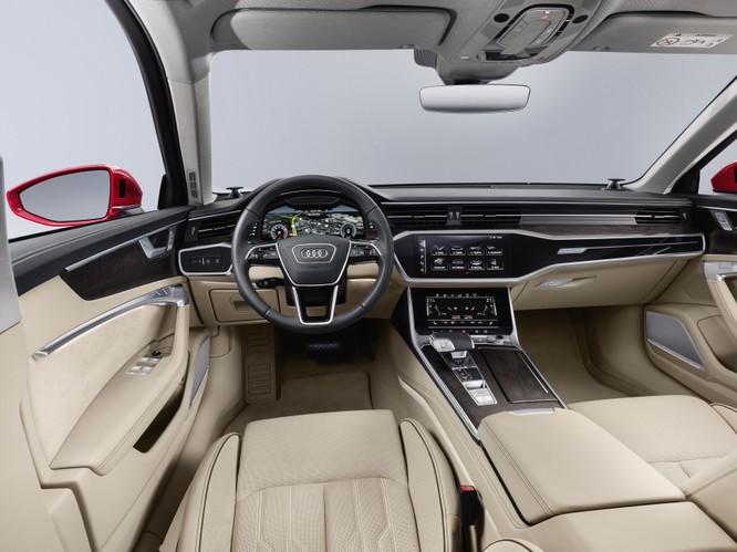 Audi ra mắt A6 2019: Đẹp và hiện đại như đàn anh A8 ảnh 2