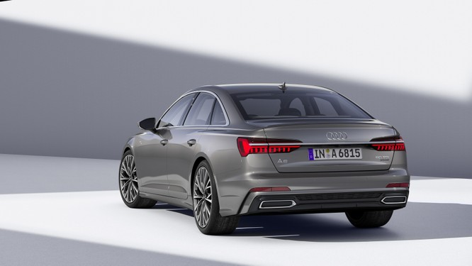 Audi ra mắt A6 2019: Đẹp và hiện đại như đàn anh A8 ảnh 14