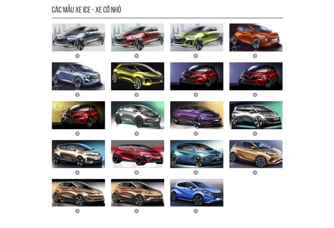 VinFast tung liền 36 mẫu thiết kế, người tiêu dùng lại tha hồ bình chọn ảnh 3