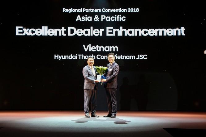 Hyundai Thành Công tiếp tục là nhà phân phối xuất sắc nhất châu Á - TBD lần thứ 3 ảnh 1