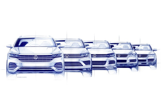Volkswagen Touareg 2019 chính thức trình làng, to hơn, nhẹ hơn và đầy ắp công nghệ ảnh 19