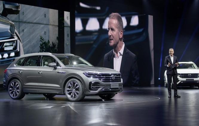 Volkswagen đã chọn Trung Quốc làm nơi ra mắt thế hệ mới của chiếc SUV đầu bảng Touareg