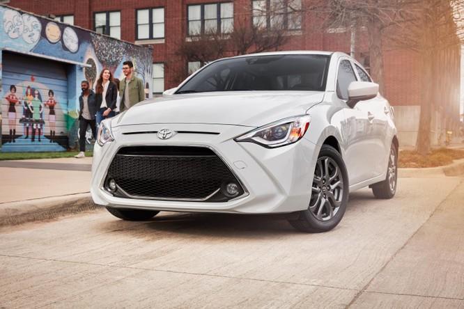 Có gì mới trên Toyota Yaris sedan 2019? ảnh 1