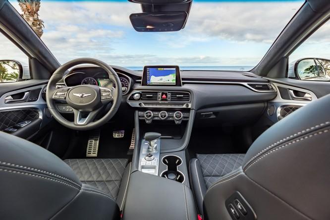 Genesis G70 2019: Đối đầu trực tiếp với BMW 3-Series ảnh 2