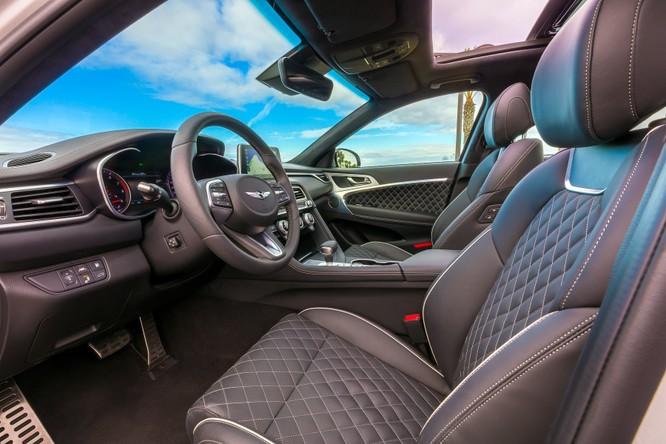 Genesis G70 2019: Đối đầu trực tiếp với BMW 3-Series ảnh 10