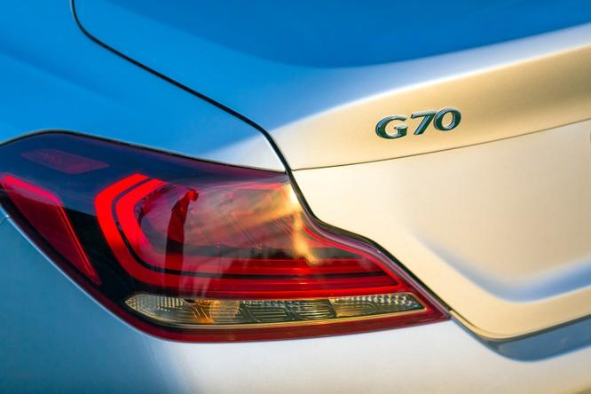 Genesis G70 2019: Đối đầu trực tiếp với BMW 3-Series ảnh 8