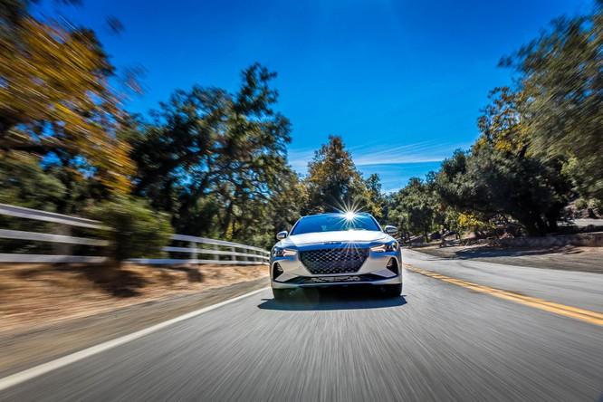 Genesis G70 2019: Đối đầu trực tiếp với BMW 3-Series ảnh 6