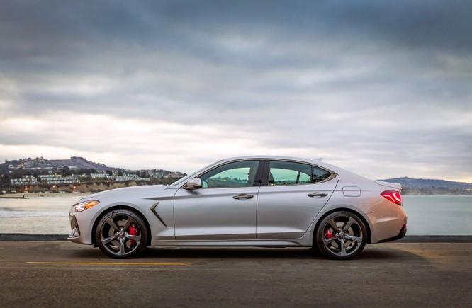 Genesis G70 2019: Đối đầu trực tiếp với BMW 3-Series ảnh 1