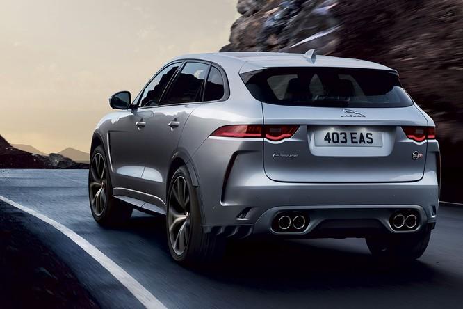 Jaguar trình làng F-PACE SVR, thách thức Porsche Cayenne S ảnh 2