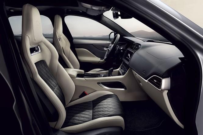 Jaguar trình làng F-PACE SVR, thách thức Porsche Cayenne S ảnh 3