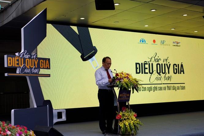 GM Việt Nam phát động chiến dịch an toàn cho trẻ em ngồi trong ô tô ảnh 4