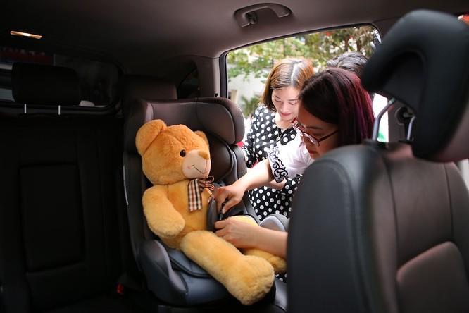 GM Việt Nam phát động chiến dịch an toàn cho trẻ em ngồi trong ô tô ảnh 8