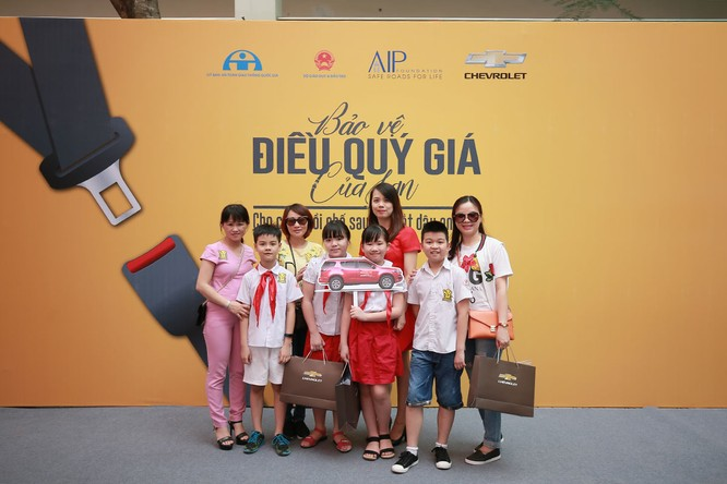 GM Việt Nam phát động chiến dịch an toàn cho trẻ em ngồi trong ô tô ảnh 7
