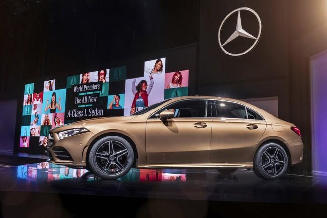 Mercedes-Benz A-Class có thêm bản Sedan, chỉ bán tại Trung Quốc ảnh 1