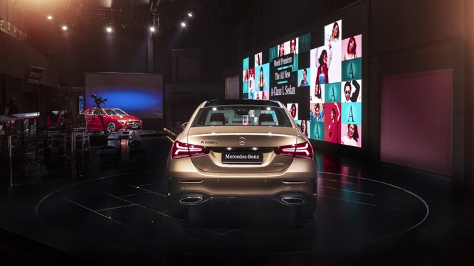Mercedes-Benz A-Class có thêm bản Sedan, chỉ bán tại Trung Quốc ảnh 11