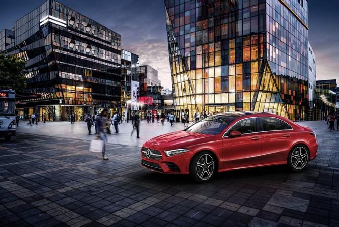 Mercedes-Benz A-Class có thêm bản Sedan, chỉ bán tại Trung Quốc ảnh 5